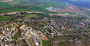 Opatovice nad Labem - Air view
