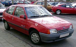 IDA-Opel - Image: Opel Kadett E front 20080131
