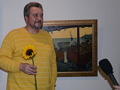 Opening Exhibition of Vasily Matusevich's paintings 19.09.2014 LaSandr-Art Gallery 01.JPG