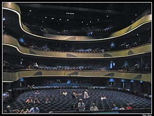 Opern- und Schauspielhaus Frankfurt - Image: Oper Frankfurt Zuschauerraum