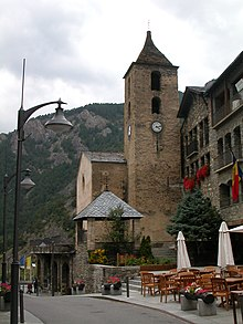 Kerk in Ordino