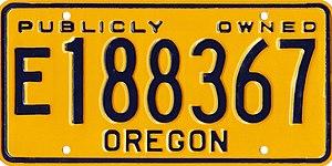 Vehicle registration plates of Oregon - Wikiwand