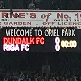Dundalk F.C. in European football Irish professional soccer clubs activities in Europe