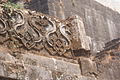 Ornamentation on wall Murud Janjira Fort.JPG