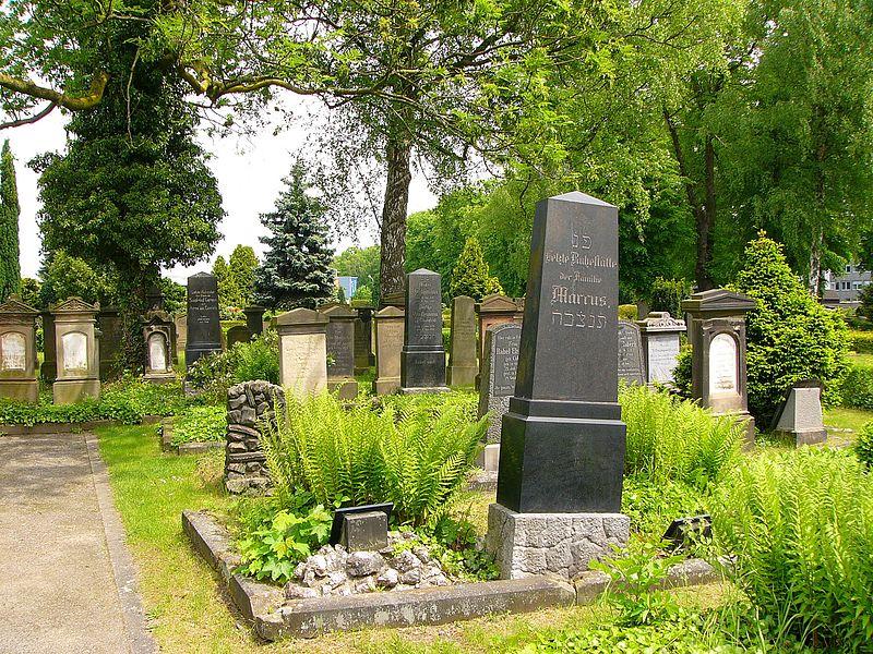 Datei:Ostenallee 59 (Hamm) Jüdischer Friedhof 1.JPG