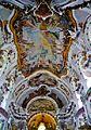 Osterhofen Basilika St. Margareta Innen Decke 2.JPG