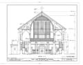 Our Lady of Peace Cathedral, 1183 Fort Street, Honolulu, Honolulu County, HI HABS HI,2-HONLU,21- (sheet 4 of 8).png