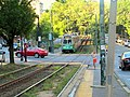 Outbound train at St Paul Street, August 2016.JPG