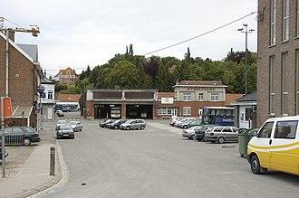 Overijse - Image: Overijse Stationsplein zuid