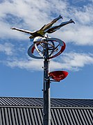 Oversight sculpture, Lincoln University Campus, New Zealand 01.jpg