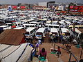 Overview of Minibuses in Taxi Park - Downtown Kampala - Uganda.jpg
