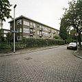 Overzicht van de achtergevels van het woonblok aan de Nazarethstraat - Rotterdam - 20388536 - RCE.jpg