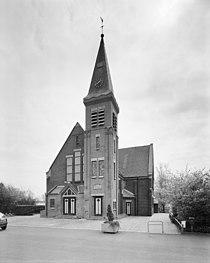 Overzicht westgevel met kerktoren - Wouterswoude - 20345556 - RCE.jpg