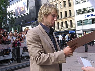 Owen Wilson - Wilson at the London premiere of You, Me and Dupree in 2006