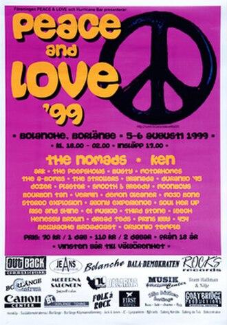 Peace & Love (festival) - Image: P&L1999