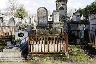 John Gilchrist (linguist) - Tomb at the Père-Lachaise Cemetery.
