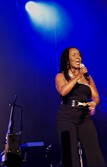 P.P. Arnold at Roskilde Festival in July 2006