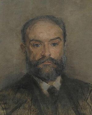 Périclès Pantazis - Périclès Pantazis, selfportrait (by 1884)