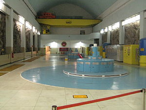 Paulo Afonso Hydroelectric Complex - Generator hall of PA II