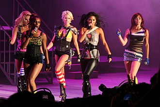 "The Pussycat Dolls - The Pussycat Dolls performing ""Buttons"" on September 3, 2008."
