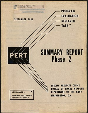 Program evaluation and review technique - PERT Summary Report Phase 2, 1958