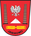 Coat of arms of Jaņikovo