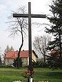 POL Niegowic - krzyz - pamiątka misji.JPG
