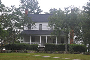 National Register of Historic Places listings in Hoke County, North Carolina - Image: PUPPY CREEK PLANTATION, HOKE COUNTY