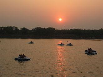 Vashi - Paddle Boating At Mini Seashore, Vashi