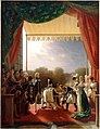 Painting, Louis XVIII and the French Royal Family, Louis Ducis.jpg