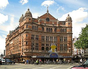 West End theatre - London's Palace Theatre built in 1891