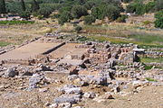 Palace of Zakros ruins