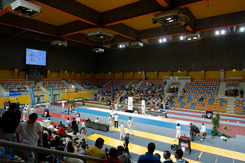 file palais des sports orleans french fencing championship