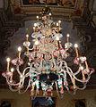 Palazzo colonna, appartamenti di donna isabella, lampadario di murano 01.JPG