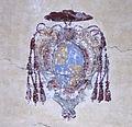 Palazzo di via cozza, orvieto, androne, stemma vescovile 01 forse tornaquinci.JPG
