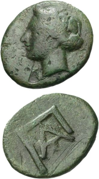 Cephalonia - Coins from Pale/Pali, the ancient town north of Lixouri.