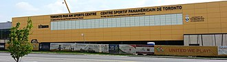 Toronto Pan Am Sports Centre - Image: Pan American Games (2015) venue Scarborough, Ontario, Canada