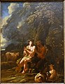 Pan and Daphnis, by Pieter Mulier, called Cavaliere Tempesta, c. 1668-1676, oil on canvas - Blanton Museum of Art - Austin, Texas - DSC07854.jpg