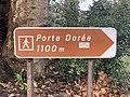 Panneau Direction Porte Dorée Carrefour Conservation - Paris XII (FR75) - 2021-01-17 - 1.jpg