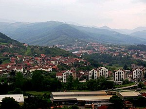 Brus - Panoramic view of Brus