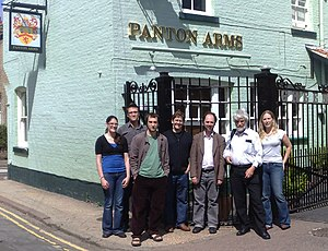 Panton Principles - Drafters of the Panton Principles at the Panton Arms pub