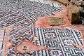 Paphos Haus des Theseus - Geometrisches Mosaik 2a.jpg