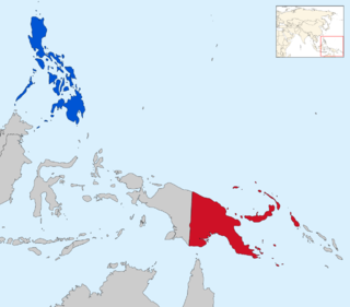 Diplomatic relations between Independent State of Papua New Guinea and the Republic of the Philippines