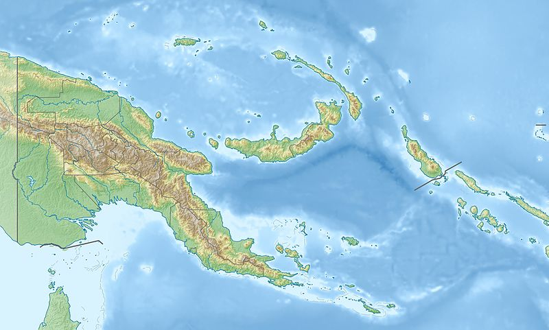 Bestand:Papua New Guinea relief location map.jpg