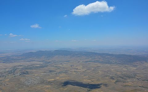 View from the top of Mountain Zaghouan