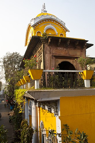 Jainism in Bengal - Image: Pareshnath Temple Gouribari