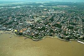 Aerial view of Parintins