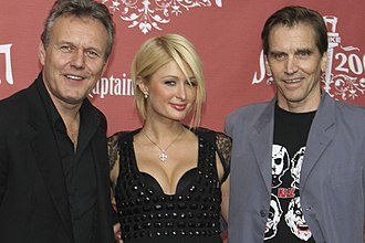 Anthony Head - Head with Paris Hilton and Bill Moseley at the 2007 Scream Awards.