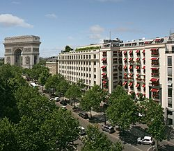 Paris Napoleon Hotel Outside building.jpg