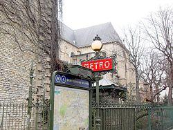 Saint-Germain-des-Prés (metrostation)
